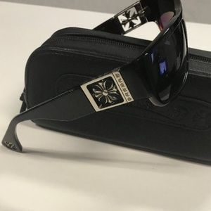 2d31a4b0c7f0 Chrome Hearts Accessories - Chrome Hearts Mens Sunglasses Rejected Black
